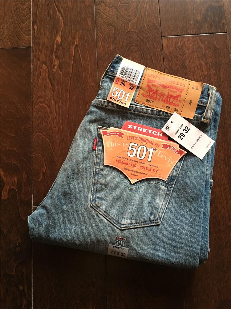 美国专柜正品 Levi's 501 李维斯男士直筒牛仔裤,levi's李维斯牛仔裤