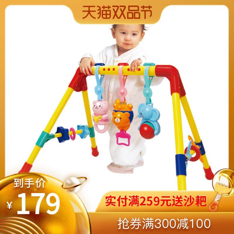Toyroyal皇室玩具婴儿健身架器男孩女孩0-1岁新生儿宝宝日本玩具