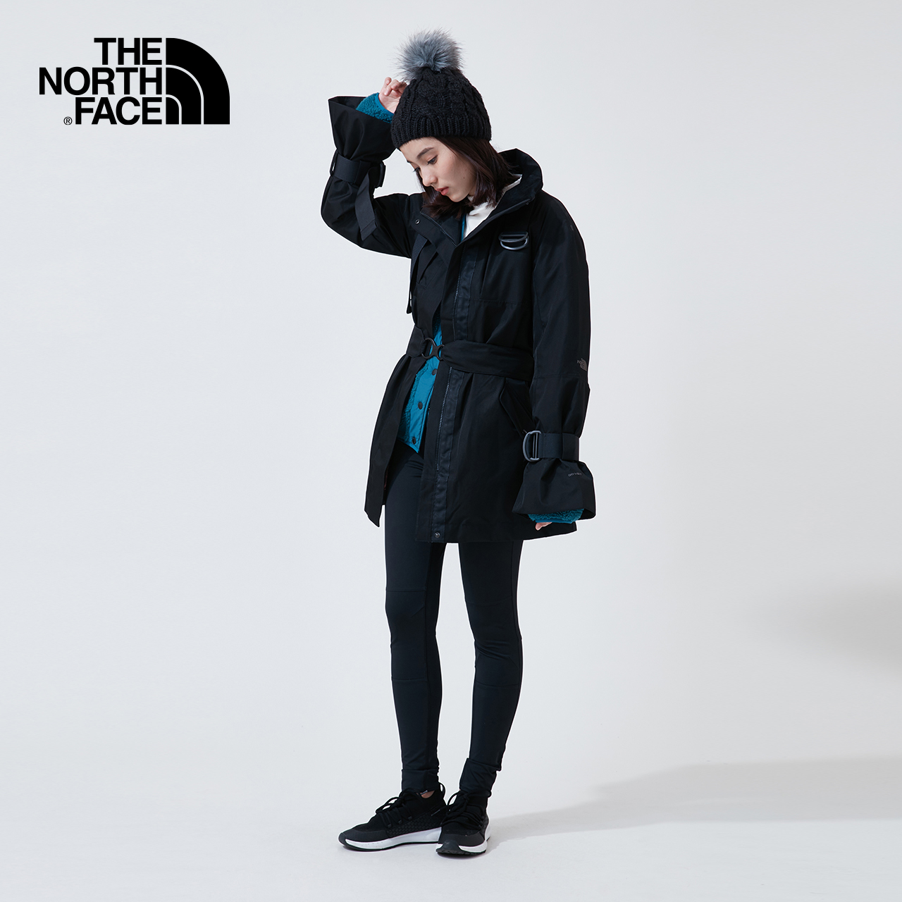 TheNorthFaceUE北面冲锋衣女潮牌北面外套户外秋冬|3V3E