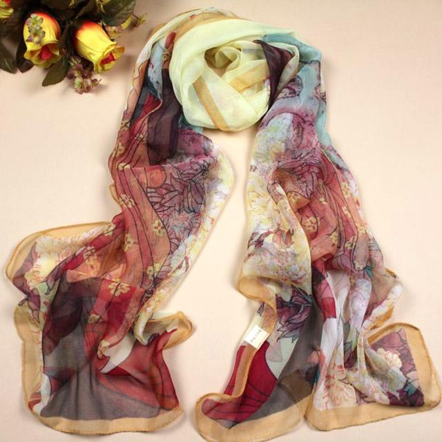 Женские шарфы из шифона Артикул 12205804797