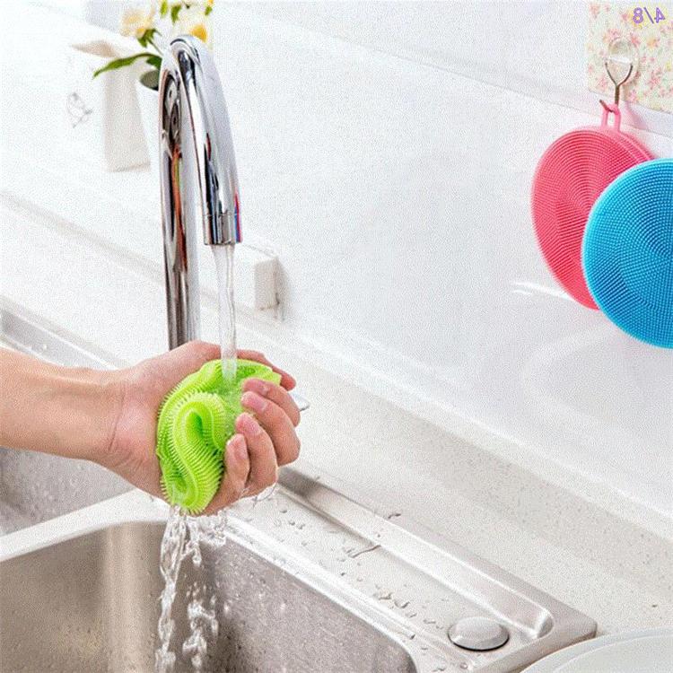 硅胶抹布厨房去污百洁布清洁硅胶洗碗刷硅胶刷锅洗锅刷盘子神器