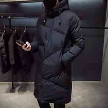 潮流中长款 棉衣男反季新款 羽绒棉服加厚帅气棉袄 男士 冬季外套韩版图片