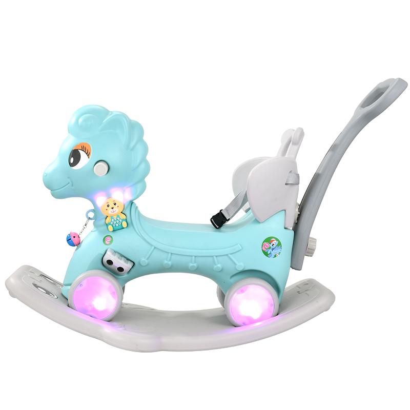 摇摇马两用木马儿童摇马塑料加厚大号儿童小玩具骑马宝宝婴儿马车