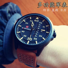 Reliable performance! Military Distribution Durable Waterproof and Practical Multifunctional Quartz Watches for Outdoor Hard Men