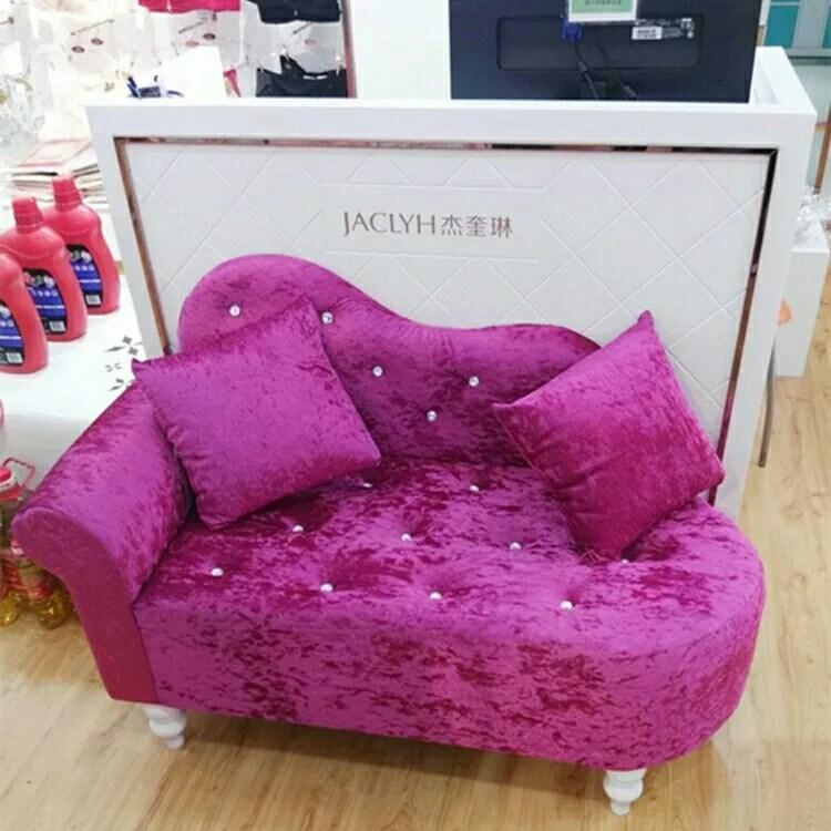 贵妃椅躺床欧式迷你圆角单扶手贵妃床沙发单独欧式贵妃椅懒人小