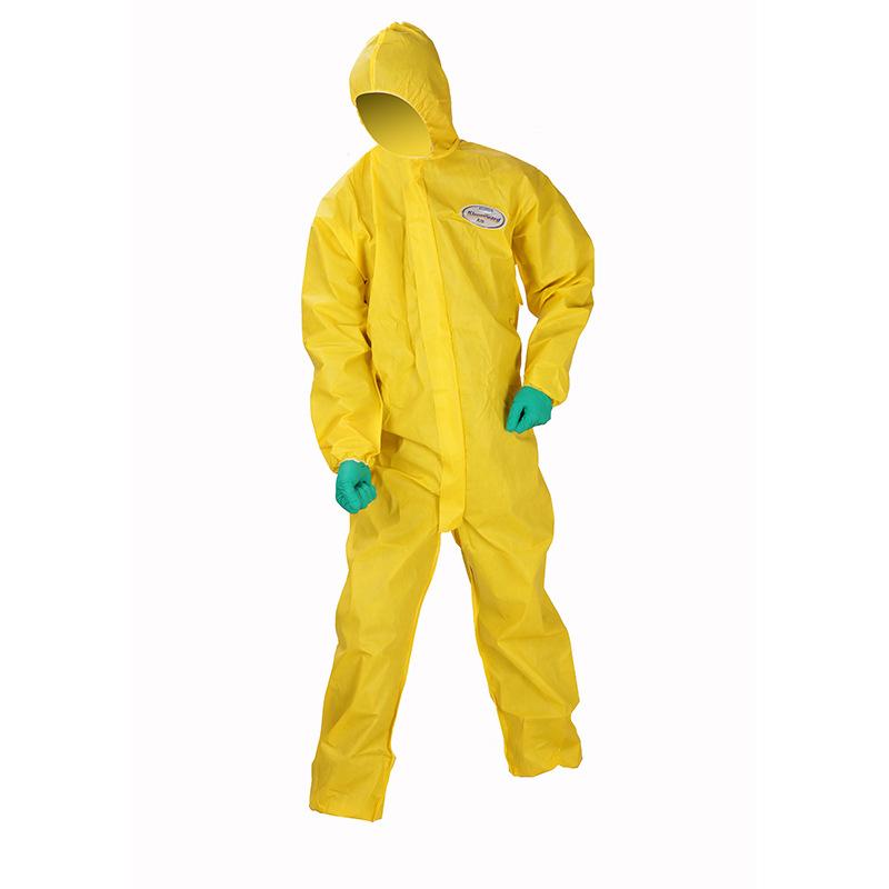 金佰利化学防护服 防硫酸喷漆隔离耐酸碱连体服防护服