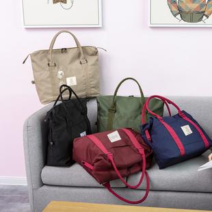 行李包女短途网红旅行包男韩版大容量轻便健身手提行李袋出差旅游