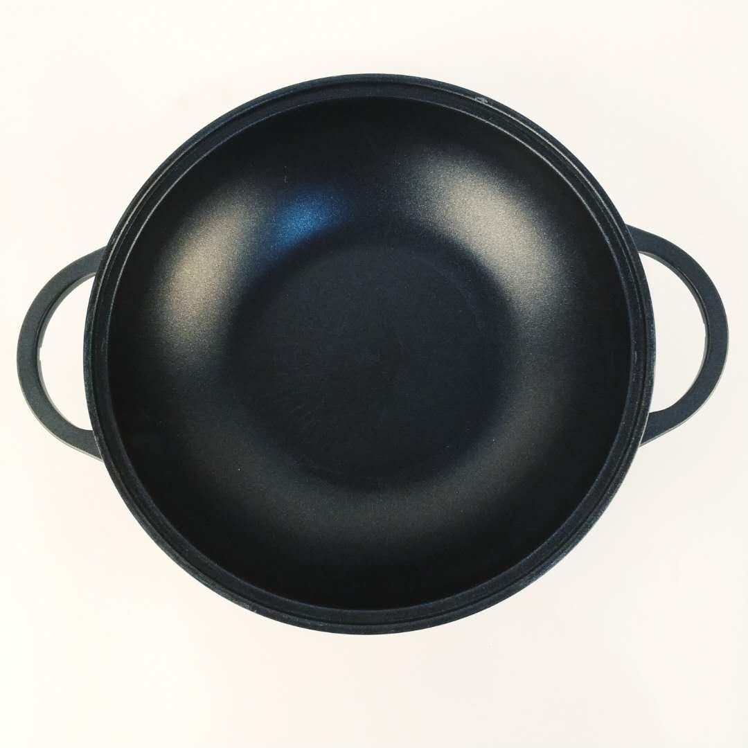 鱼火锅专用铝合金材质  明火电磁炉双用双耳炒型汤锅柠檬鱼顺水鱼