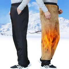 男冬加厚棉裤