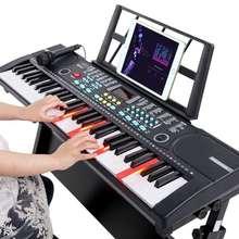 电子琴手卷钢琴初学者儿童晚礼服拖尾指大人琴61键婴儿脚踏图片