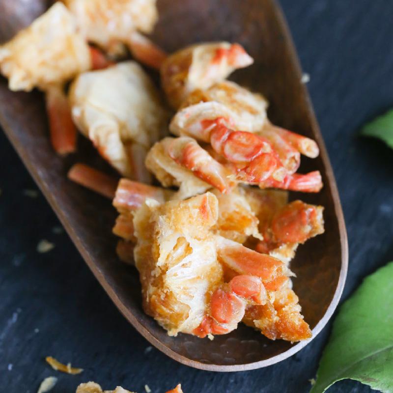 吃货研究所 原味脆蟹 高钙小零食 咔哧一口鲜脆酥香 非油炸 包邮