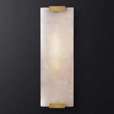 新中式云石个性客厅床头背景墙壁灯 设计师美式简约复古浴室壁灯