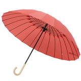 Japan imported brands Mabu simple business long umbrella umbrella Japanese umbrella straight handle solid wind storm