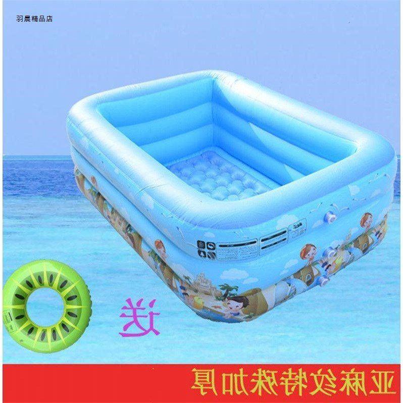 家用婴幼儿童充气游泳池家庭加厚小孩超大号戏水池洗澡桶