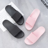 Home female summer bathroom couple non-slip shower slippers soft bottom home hotel general purpose thick bottom slippers men