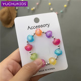 South Korea imports spring and summer colorful bracelet baby accessories children's bracelet girl bracelet girl wear bracelet