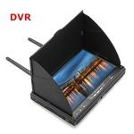 FPV航拍7寸双接收5.8G一体机显示屏 内置电池 显示器