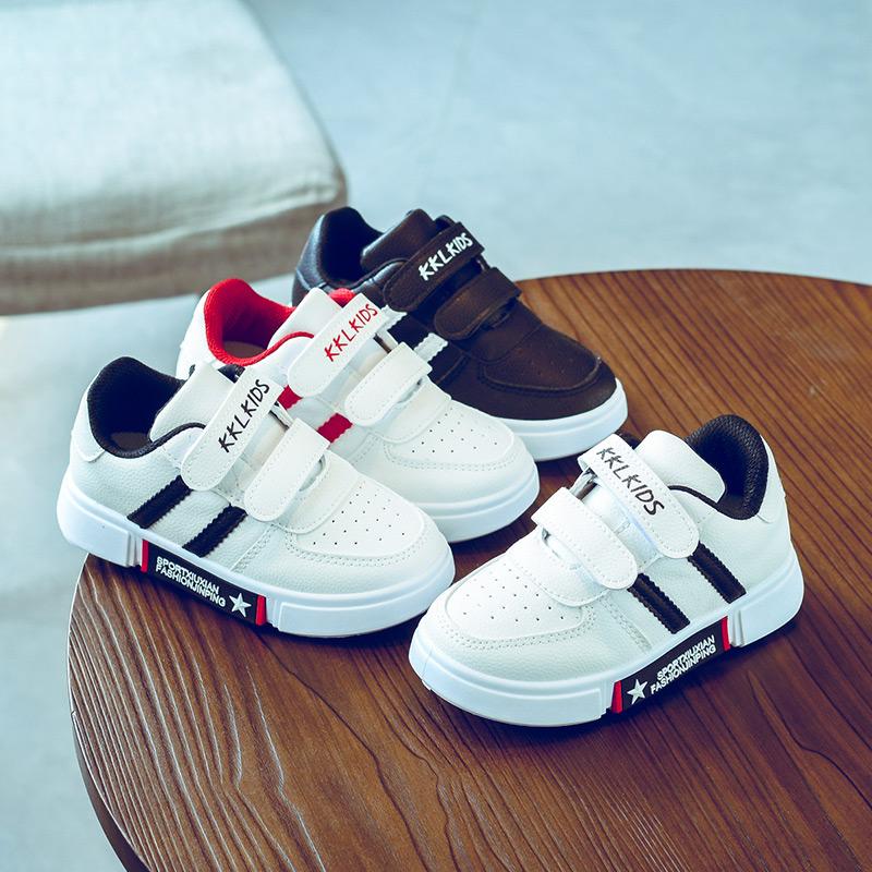 小白鞋男童鞋子2019新款春夏款韩版潮儿童网鞋透气网面女童运动鞋