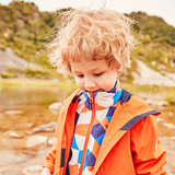 Pathfinder Jacket Autumn and winter outdoor boy oil and water repellent fleece jacket two-piece QAWG93062