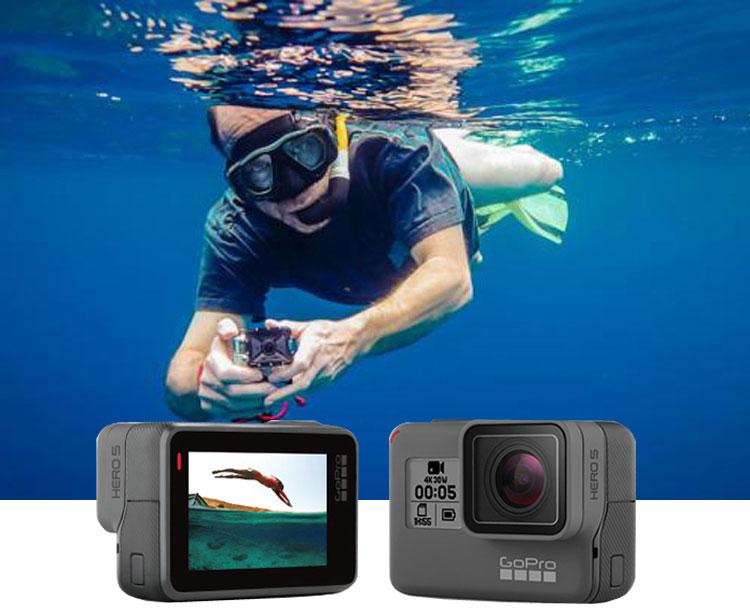 数码摄像机抖音高清潜水下运动相机黑狗