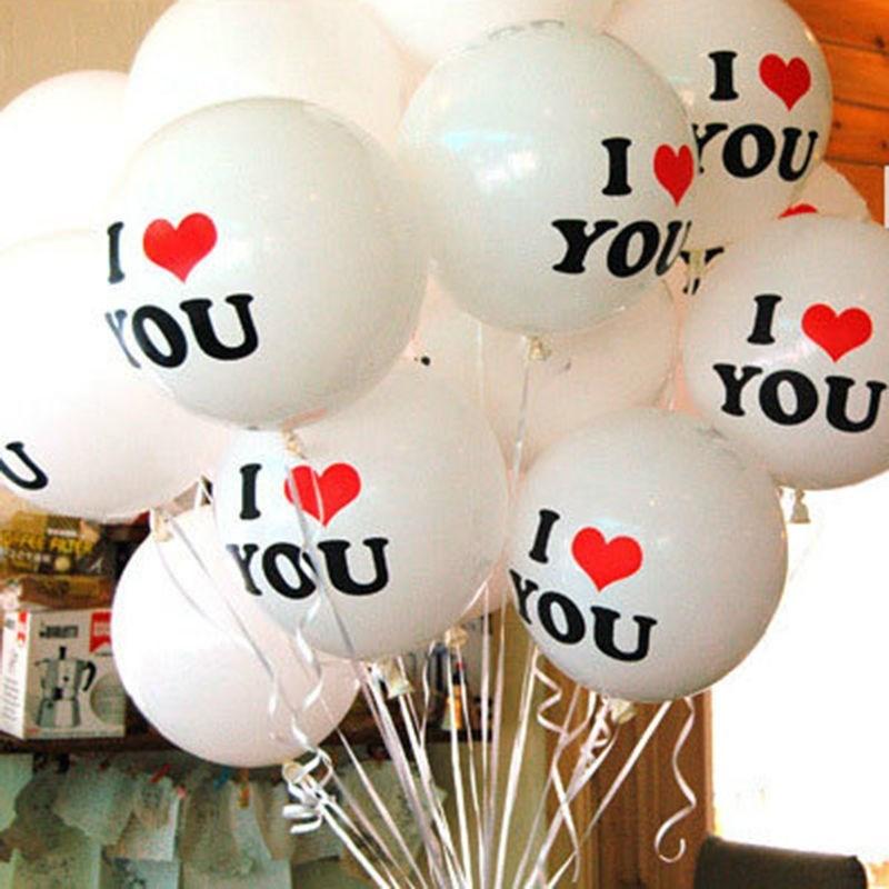 White 10pcs Birthday Party Wedding Anniversary Decor Hot Sel
