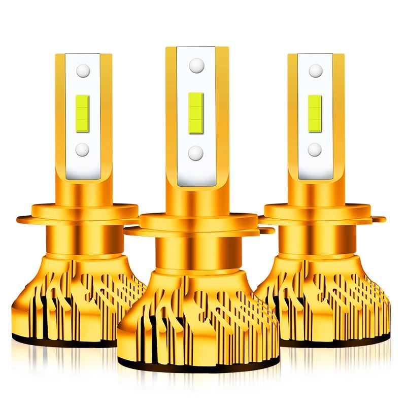 汽车led大灯灯泡H7H11H4超亮近远光灯一体9005改装激光强光前照灯