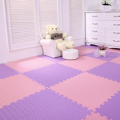 儿童卧室地板塑料泡沫地垫瑜伽垫宝宝拼图拼装拼插爬行垫大块积木