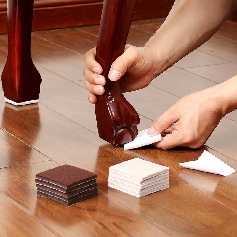 护家毛毡桌椅脚垫地板静音耐磨保护垫椅子凳子桌角沙发桌腿垫方形