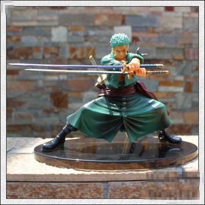 海贼/航海王 2年后 罗罗诺亚 索隆 造型王 索隆 三刀流剑士 手办