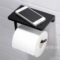 卫生纸挂筐免打孔卫生间纸巾盒创意卷纸架手纸架纸篓置物篮壁挂式