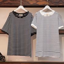 加肥加大码女装2019春季新款短袖T恤240斤220特大胖mm宽松上衣夏