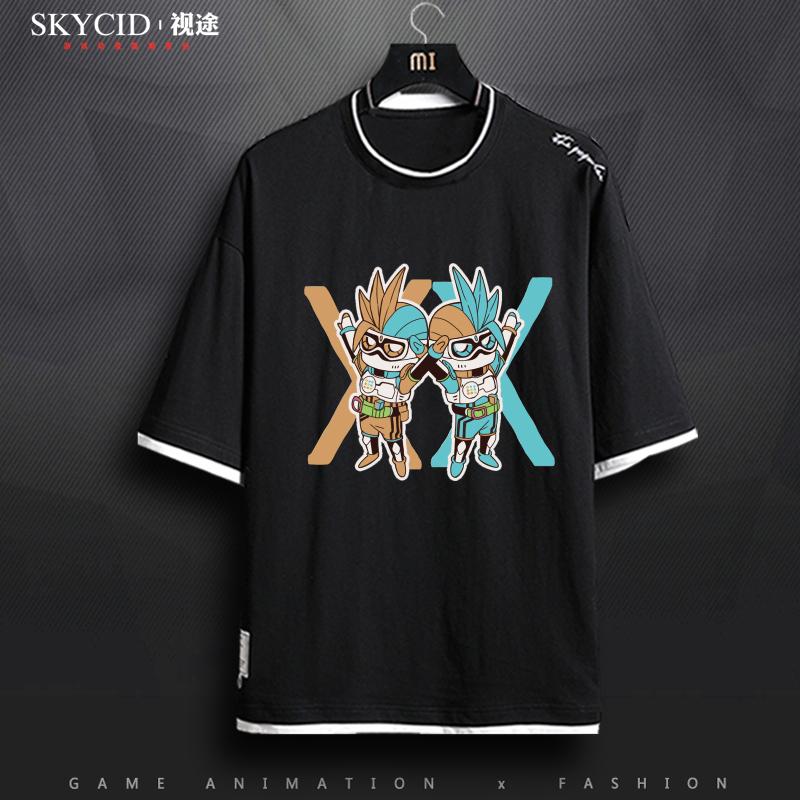 新款假面骑士时王ZI-O周边夏季男女情侣短袖T恤个性休闲半袖衣服