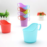 10 one-time paper cup tow drinking water cup thickened cup tohold paper cup holder open water insulation cup set