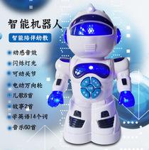 电动音乐机器人幼儿童1-3周岁4-6宝宝7小孩2益智力5女孩8男孩玩具