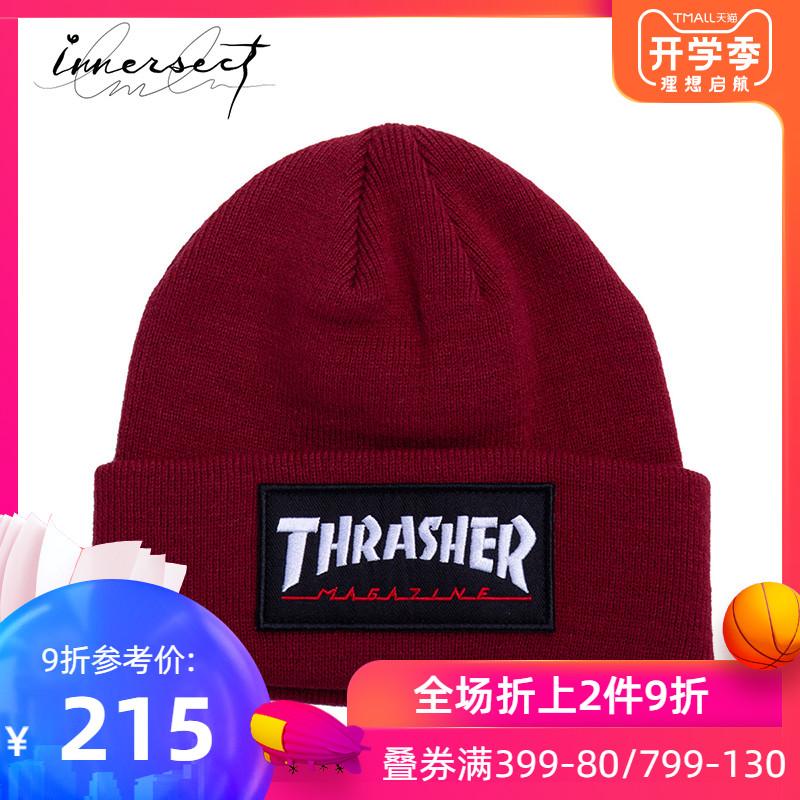 INNERSECT潮牌 THRASHER 2019夏季新品时尚休闲毛线帽男