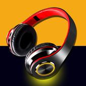蓝牙耳机头戴式无线发光游戏运动型跑步耳麦电脑手机男女通用插卡音乐FM重低音超长待机可接听电话图片