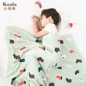 六层纱竹棉毯子 儿童纱布盖毯幼儿园便携式午睡婴儿小毯子春夏薄款