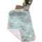 棉斜纹水洗密道宝宝垫儿童床单月经垫卡通图案70*100