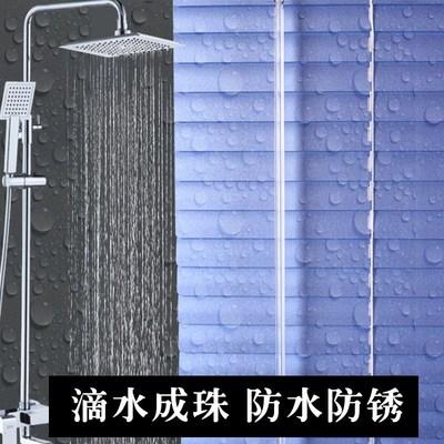百叶窗升降通风口厕所新款工厂门窗防雨可调拉绳室内隔断窗户创意