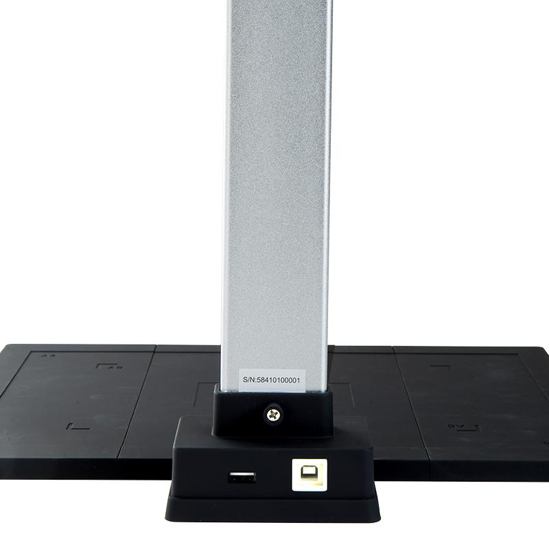得力高拍仪15152高清书法教学A4A3办公采集证件书籍扫描仪机专业高速智能双摄自动