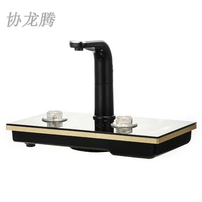 协龙腾智能全自动上水电热水壶家用茶盘三合一抽水快速炉茶道零配
