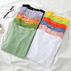 2020年春季女装上衣服韩版学生小众设计感情侣装ins夏装短袖t恤潮