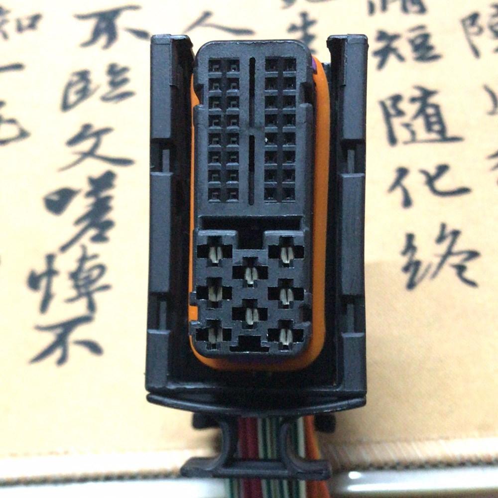 大众帕萨特B5领驭波罗宝来捷达王奥迪A6L汽车发动机电脑板插头