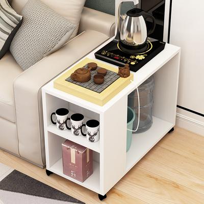 边角桌沙发柜工作室多功能茶水架边几客厅角几可移动小茶几简易