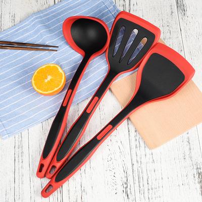 乐扣不粘锅专用耐高温尼龙铲套装硅胶铲厨房家用炒菜铲子汤勺铲勺品牌资讯