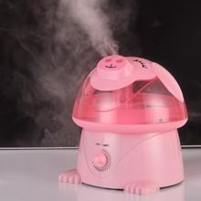 卡通加湿器家用静音卧室大容量办公室空调空气净化桌面迷你香薰机