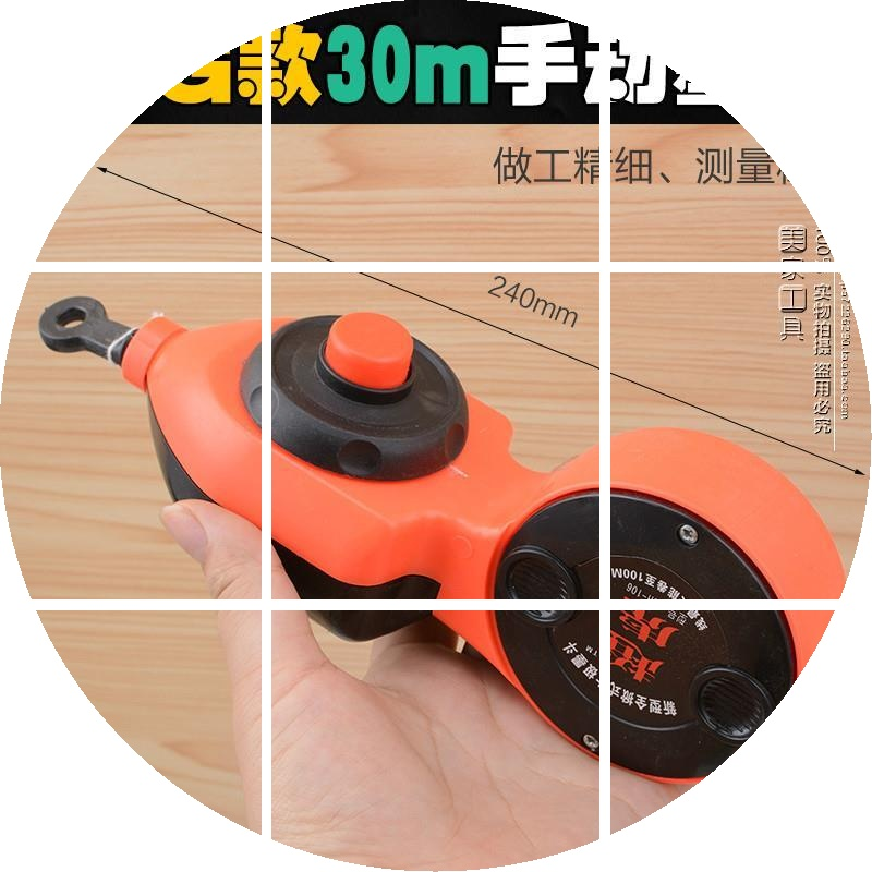 木工专墨斗 手动划线器 弹线墨线手动工具 粉斗棉线