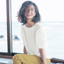 CE*LINE and Japanese silky heavy-duty white T-shirt with high-grade pure cotton half-sleeve and round collar