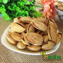 新货零食特产新疆巴旦木原味壳杏仁生巴达木美国大杏仁坚果500g