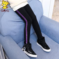 Girls pants 2019 new spring and autumn foreign girls wear 10 big children 12 years old children thin section leggings